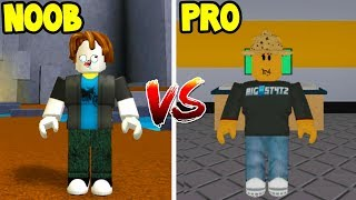 Roblox NOOB VS PRO - Fuga dalla Facility Edition