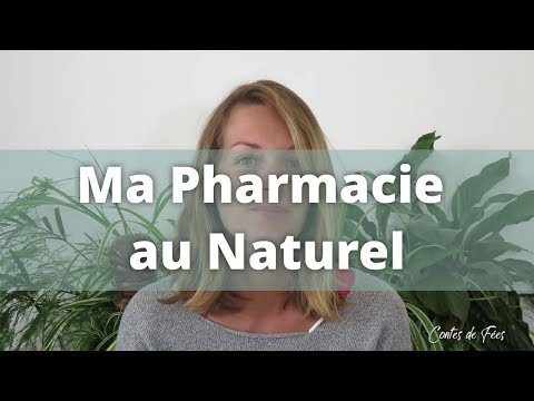 🌳 Ma PHARMACIE au NATUREL ! Zéro Déchet - Bio - Minimaliste  ✨✨
