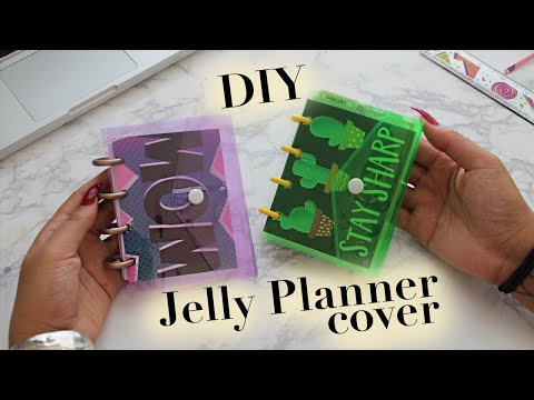 Easy Cheap DIY Jelly Happy Planner Cover | BEST Dollar Tree Find