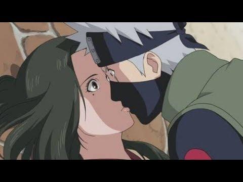 Kakashi dan Hinara ciuman