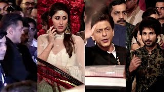 Shahrukh - Salman Khan, Kareena - Shahid At Isha Ambani GRAND WEDDING | #IshaAnandPerimal Wedding