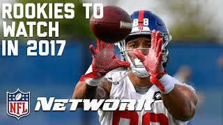 Rookies to Watch in the 2017 Season | Total Access | NFL Network
