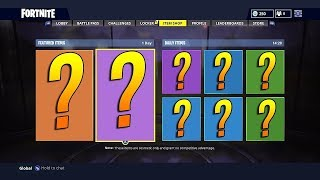 Fortnite New Item Shop Today LIVE (September 26, 2018) BOUTIQUE FORTNITE -Daily Dance, Skins, Items