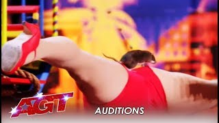 The Girl With The Rat: The Most Talented RAT In The World?   America's Got Talent 2019