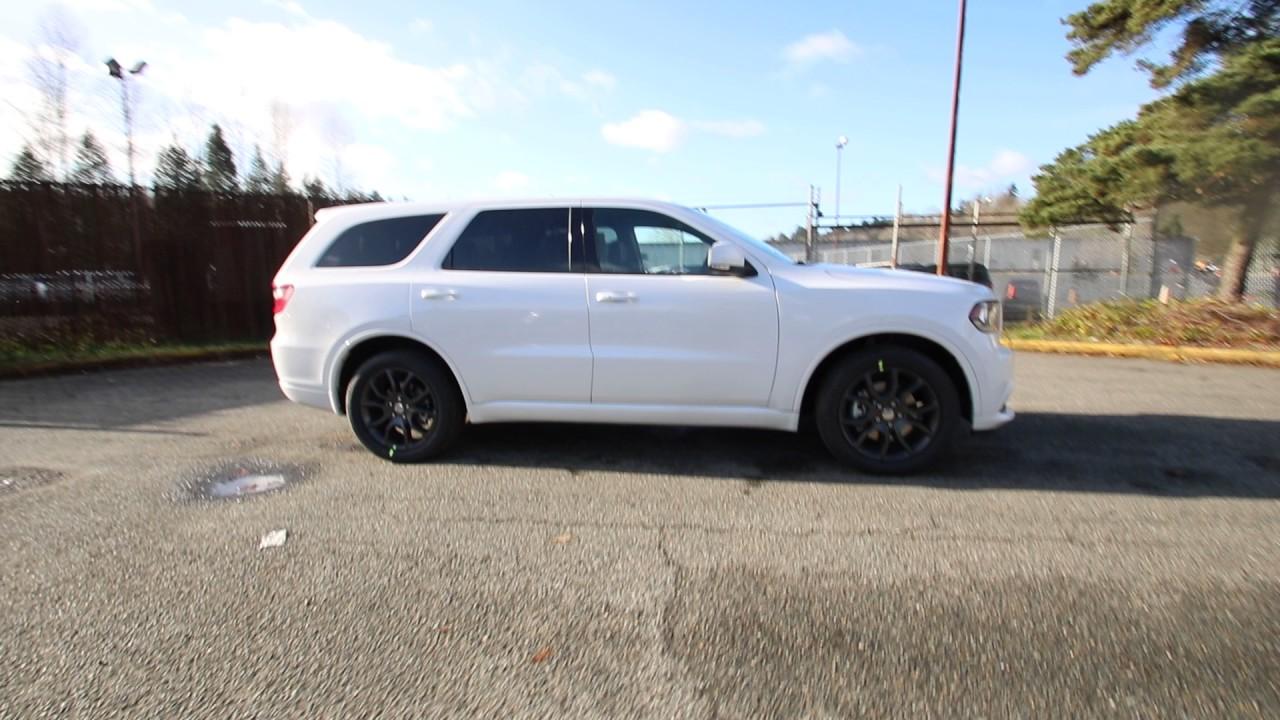 2017 Dodge Durango R T White Hc726134 Redmond Seattle