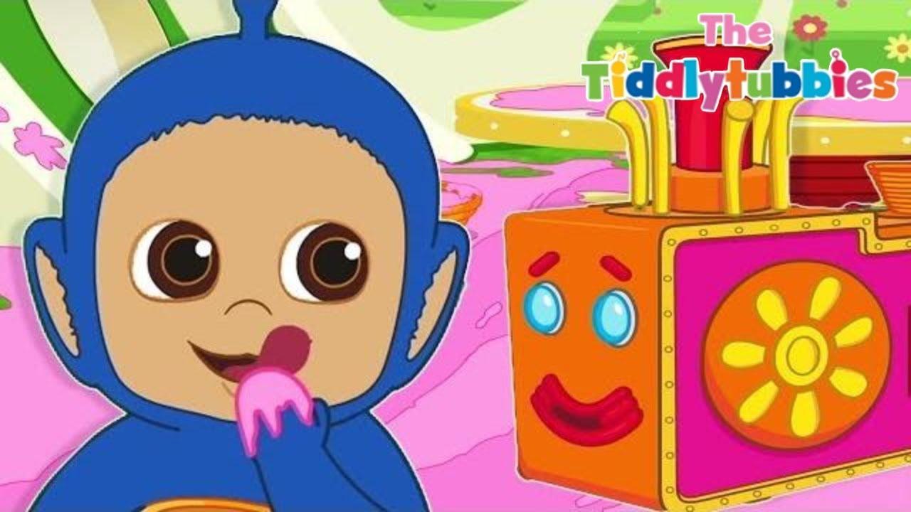 Tiddlytubbies Season 2   Episode 3 Riding The Tubby ...