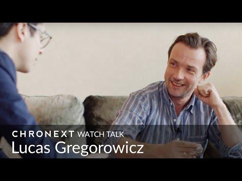 Zu Gast: Schauspieler Lucas Gregorowicz  CHRONEXT Watch Talk