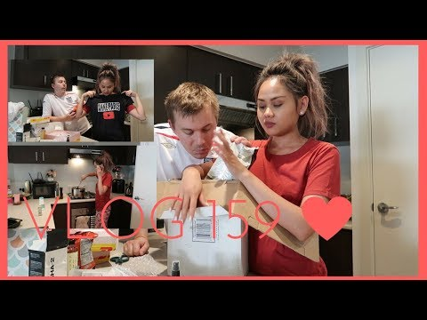 COOKING HIS FAVORITE CHICKEN ADOBO + PACKAGE FROM THE PHILIPPINES + MORE.. !!