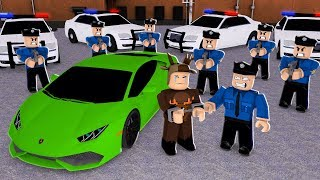 ARRESTED FOR STREET RACING IN ROBLOX! (Roblox Street Racing)