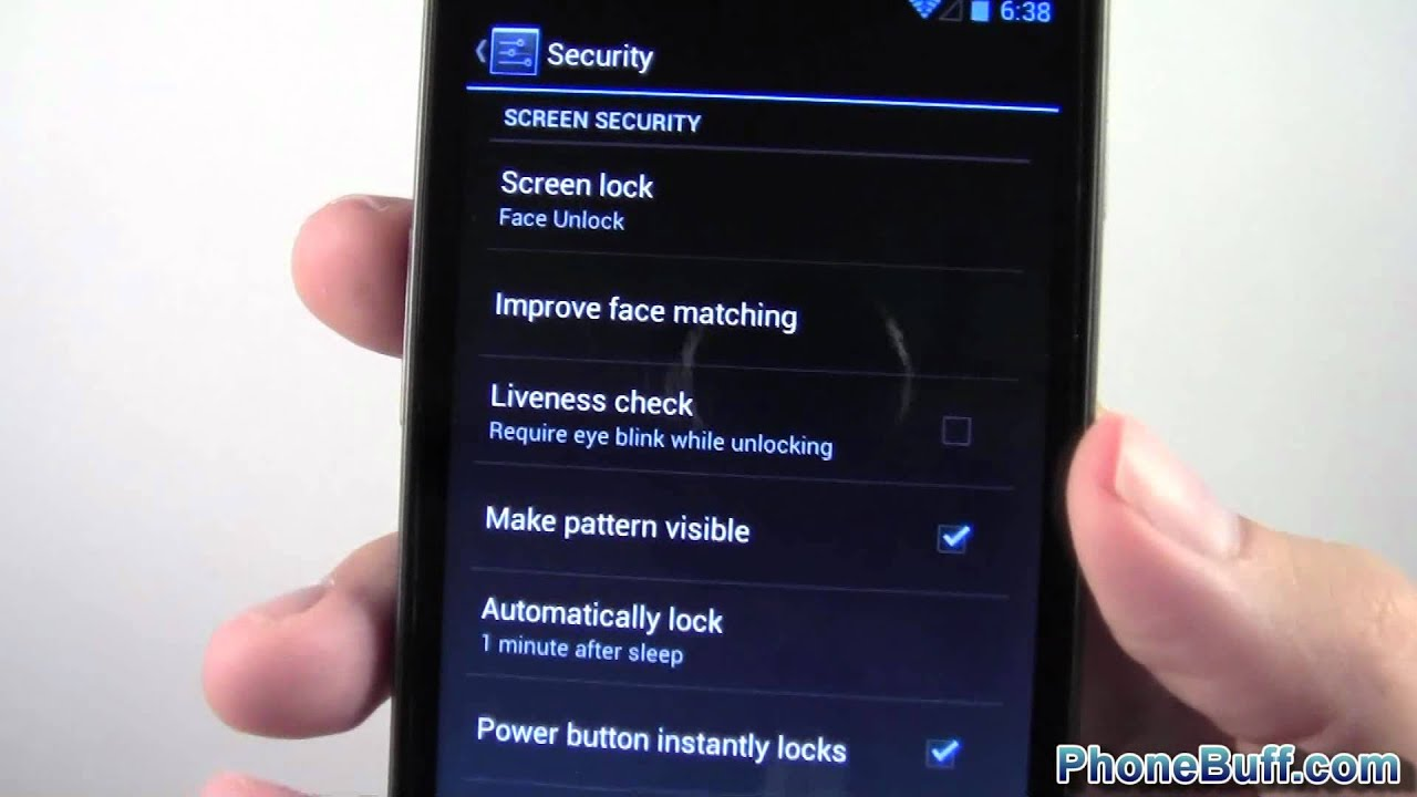 face unlock new features on android 4 1 jelly bean