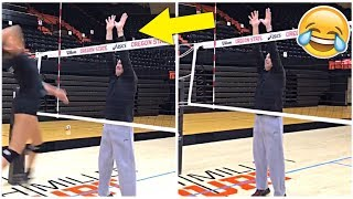 COACH BLOCK !? Funny Volleyball Videos (HD)