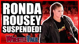 Ronda Rousey SUSPENDED! | WWE Raw, June 18, 2018 Review