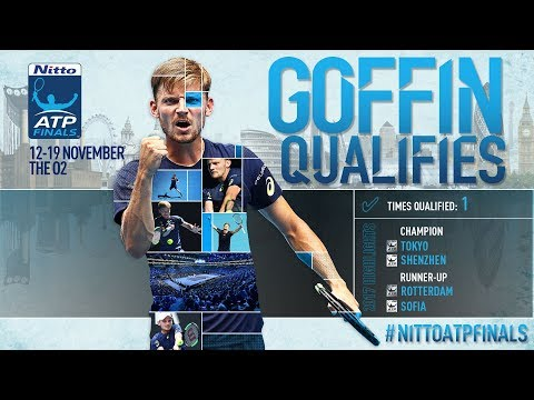 Goffin Qualifies For Nitto ATP Finals 2017