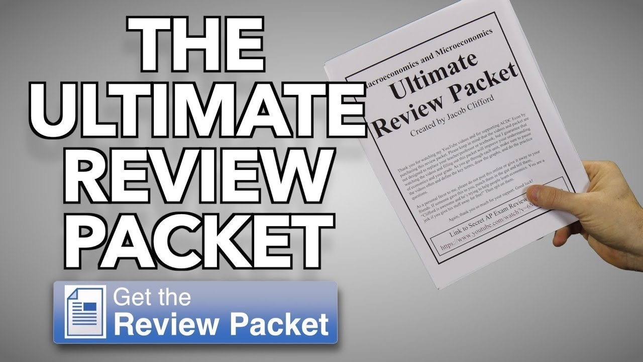Ultimate Review Packet | ACDCecon