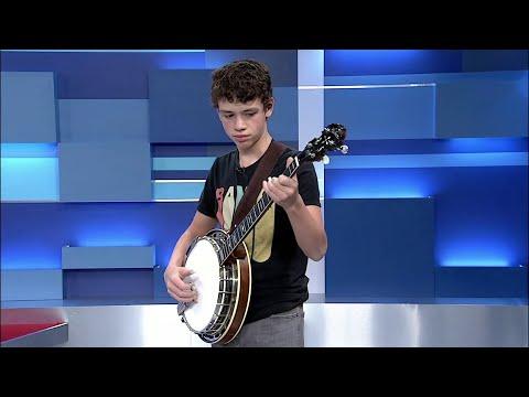 13-year-old Ayden Young - Award Winning Banjo Player indir