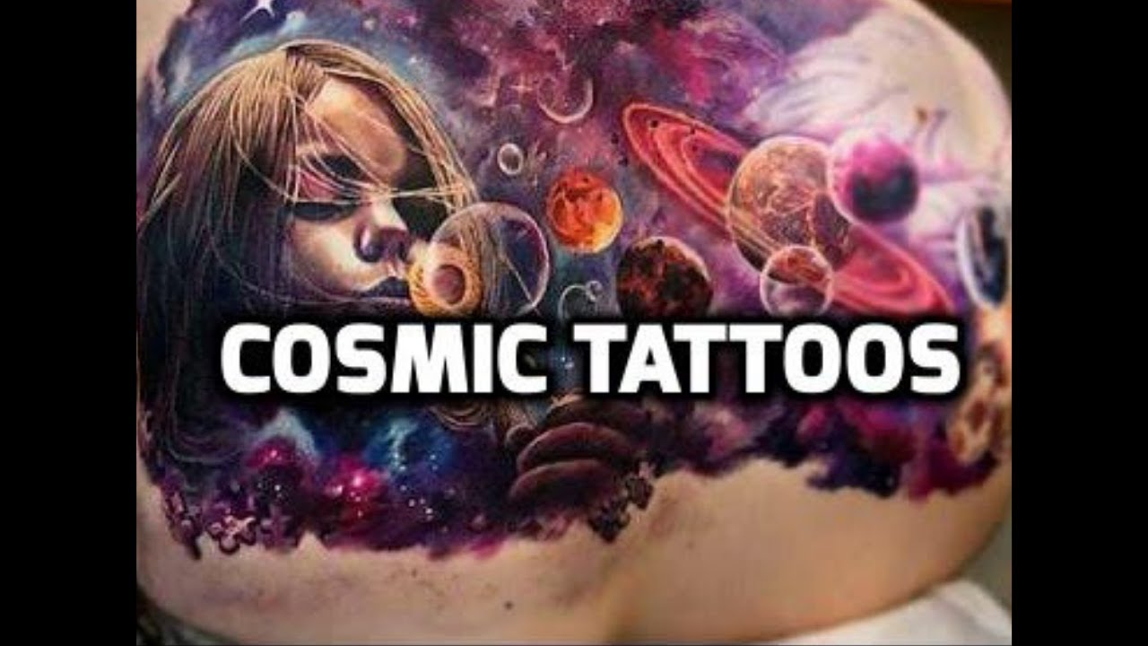 cosmic tattoos best cosmic tattoo designs ideas youtube. Black Bedroom Furniture Sets. Home Design Ideas