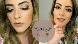 Maquiagem Nude - degradê fácil!