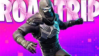 HOW THE * ROAD TRIP * MYSTERY SKIN LOOKS IN FORTNITE..
