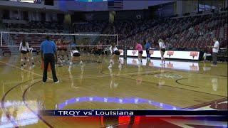 Volleyball vs Louisiana - TROY TrojanVision News