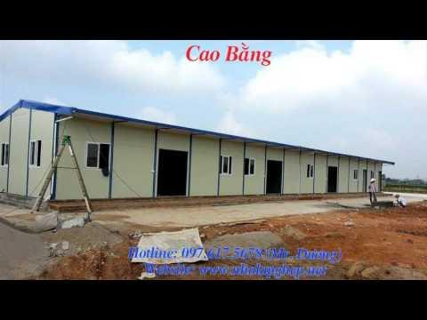 Nhà lắp ghép tại Cao Bằng - nha lap ghep miền bắc - IDC Việt Nam - Hotline: 097.617.567