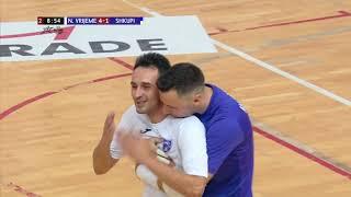 NOVO VRIJEME vs SHKUPI 4:2 (3. kolo, Glavna runda futsalske Lige prvaka 19/20)