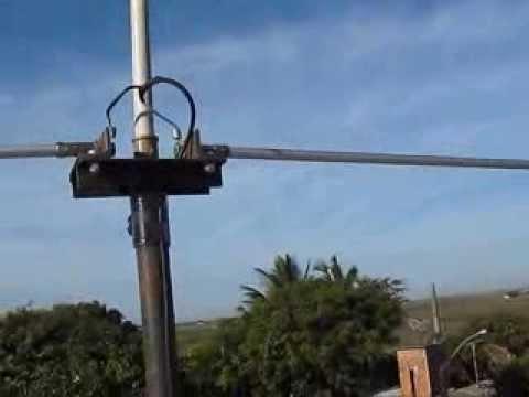 Antena Para 40 Metros Portátil Com Comprimento Total De Aproximado De Apenas 5 Metros Por PY1MV.