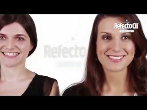 3) Процедура окрашивания бровей и ресниц: RefectoCil Sensitive .