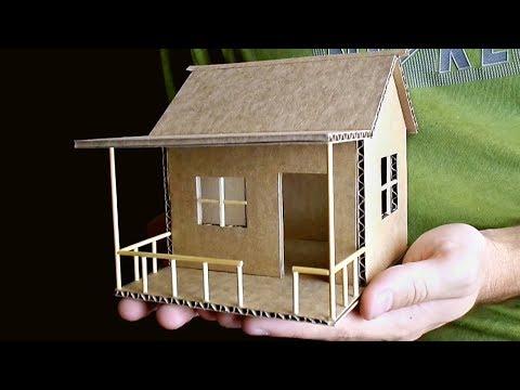 Как сделать поделку домик