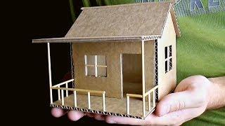 как сделать дом из картона своими руками маленький