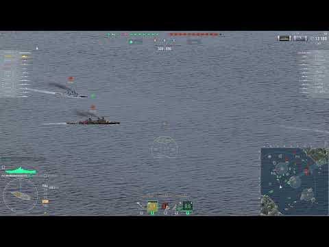 Russian havycruiser damaged