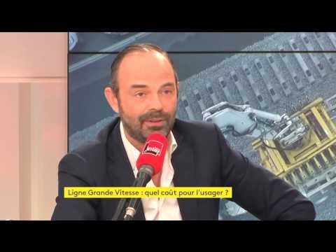 Edouard Philippe sur la situation SNCF entre la Normandie et Paris