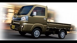 2015 Daihatsu Hijet, Subaru Sambar, and Toyota Pixis all-new kei trucks