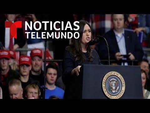 EN VIVO: Rueda de prensa de la portavoz de  la Casa Blanca, Sarah Huckabee Sanders