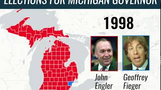 Elections for Michigan Governor 1998-2018