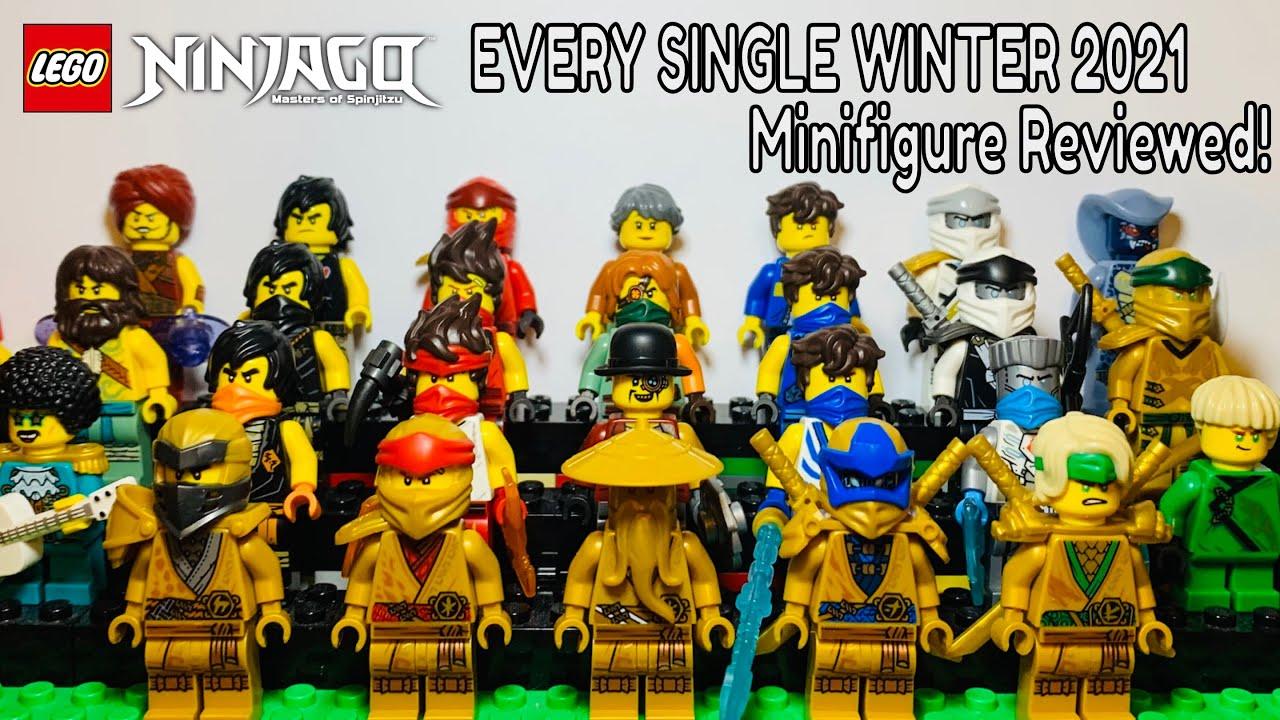 Every LEGO Ninjago 2021 Legacy Minifigure Reviewed!