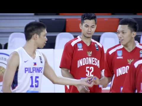 Philippines vs. Indonesia | May 25, 2016 | 5th SEABA Stankovic Cup 2016 THAILAND (TH)