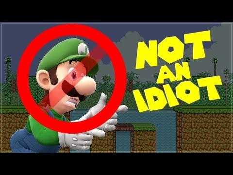 Luigi is NOT AN IDIOT