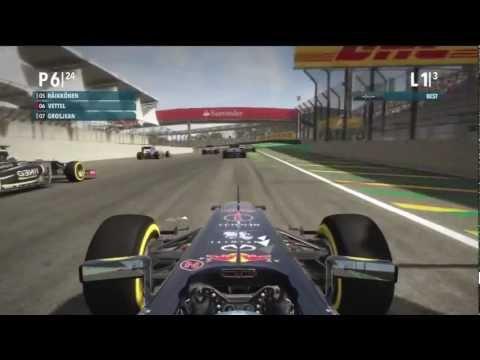 SENNA VS VETTEL BRAZIL GP  F1 2012