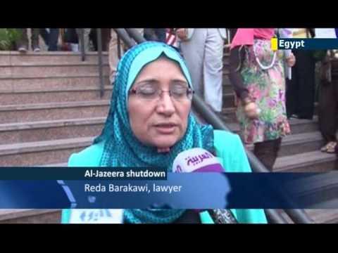 Egypt bans Al Jazeera: TV news channel forced off air amid claims of pro-Muslim Brotherhood bias