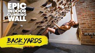 Comment une grimpeuse championne du monde s'entraîne dans son sous-sol   Cours Red Bull