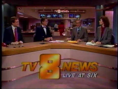 KCCI TV-8 News at Six (February 16, 1989)