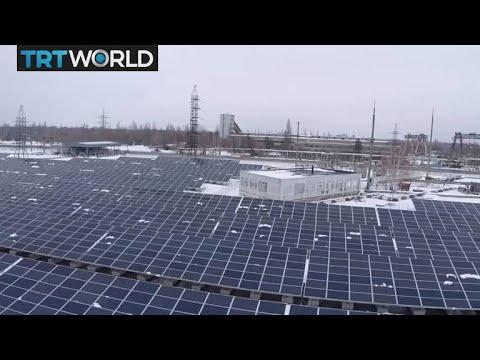 Going Solar: Solar power plant opens in Chernobyl