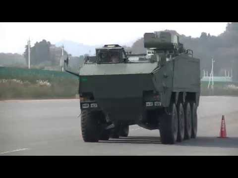 Japan unveils new generation armored personnel carrier