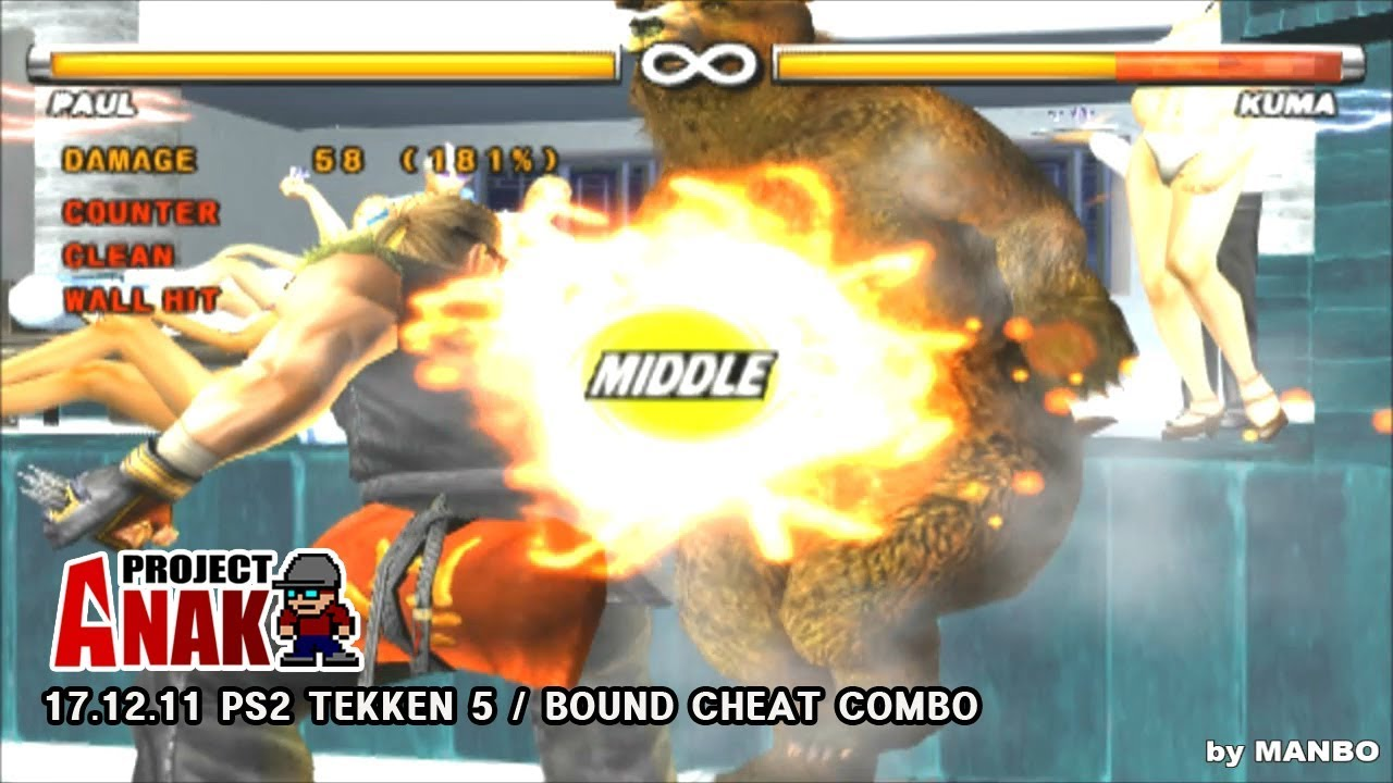 tekken 5 ps2 cheats unlock all characters