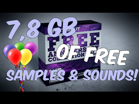 7,8 GB of FREE Sounds & Samples! Anniversary Collection Vol. 3!
