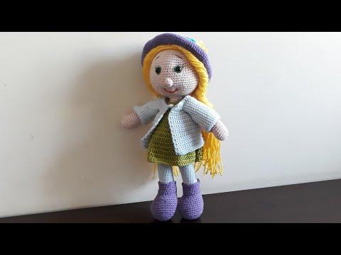 Pin de Veronica Lescano em gato   Bonecas de crochê, Boneca de ...   360x480