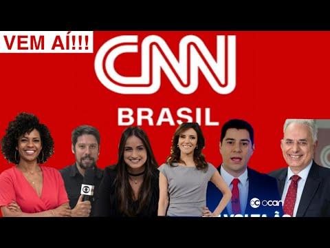 Novo Canal Chegando, CNN Brasil estreia em Breve! Com vários jornalista Ex Globo confira!