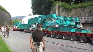 Convoi exceptionnel de 109 mètres (partie 5)