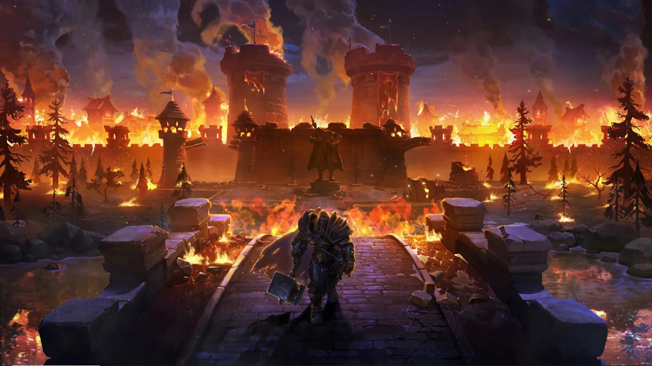 Wallpaper Engine Warcraft 3 Reforged Stratholme Youtube