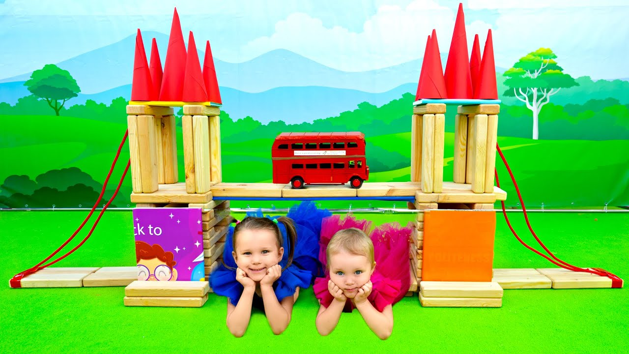 Five Kids London Bridge is Falling Down + more Children's Songs and Videos